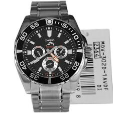 casio herrenuhr duro taucher 200m multi dial mdv302d-1av uk verkäufer