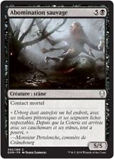 MTG Magic DOM - (x4) Feral Abomination/Abomination sauvage, French/VF