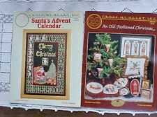 Cross Stitch Patterns 2 by Cross My Heart Christmas Advent Calendar Melinda USA