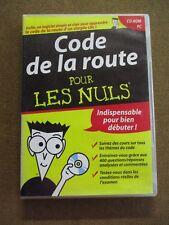 Code de la route pour les nuls Que le CD /ZA34