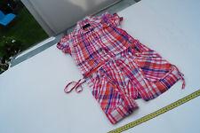 BENCH Damen Kleid Hemd Karo Bluse Tunika Kleidbluse Gr.M / 38 kariert pink TOP