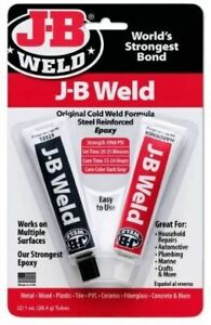 JB Weld 8265S Steel Reinforced Epoxy - Original Twin Pack - 2oz