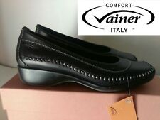 """VAINER """"BELLISSIMA SCARPA DONNA IN PELLE MADE IN ITALY COL. NERO N° 35 NUOVO"""""""
