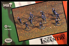 Airfix WWII Italian Infantry - HO reissue HAT mib set # 7007 - olive green color
