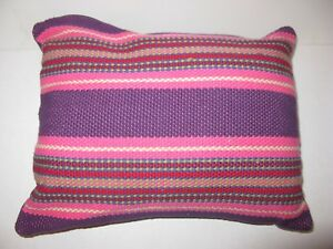 Ralph Lauren Layla Stripe University decorative pillow NWT