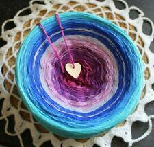 Cotton Candy Colourful Gradient Stenli DK Yarn 280g 900m Cake wool crochet 832