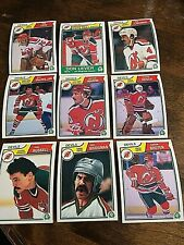 1983-84  O-Pee-Chee  new jersey devils 15   card team set/lot
