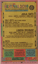 BESTIVAL 2018 ADVERT JORJA SMITH SILK CITY LONDON GRAMMAR M.I.A PLAN B