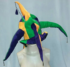 Mardi Gras Fat Tuesday Jester Hat with Bells