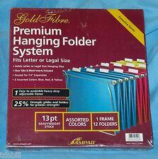 Ampad Gold Fibre - Premium Hanging Folder System - Letter Legal File Frame 16505