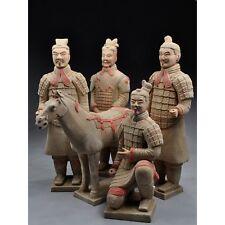 Terrakotta Krieger - Set - 42 cm Serie, hell Tonsoldaten Terra Cotta Armee China