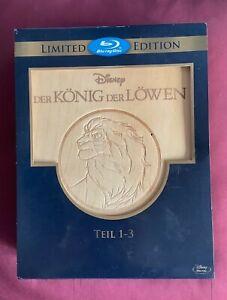 Der König der Löwen 1-3 - Trilogie / Holzbox / Blu-ray / Limited Edition