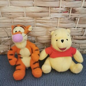 Winnie The Pooh And Tigger Gund Plush Toys (vintage?) Collectable