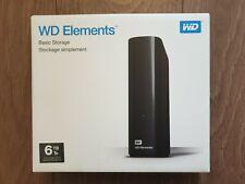WD 6TB Elements Desktop External Hard Drive - USB 3.0
