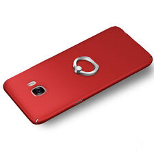 Ultra Thin Ring Stand Hard Back Case Cover For Samsung Galaxy Phones S8 S8 Plus