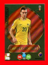 WC RUSSIA 2018 -Panini Adrenalyn-Card Limited Edition Brasil-SAINSBURY-AUSTRALIA