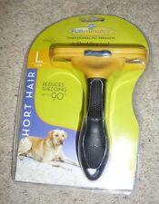 FURminator Long Hair deShedding Tool for Dogs, Short Hair (Large)