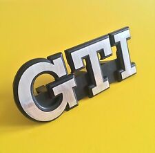 VW MK2 Golf GTI Grill badge Letter refurb (Sticker supplied only)