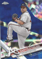 BARTOLO COLON 2017 TOPPS CHROME SAPPHIRE EDITION #573 ONLY 250 MADE