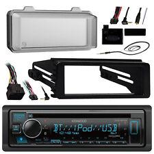 KDCBT34 Bluetooth CD Radio, Harley FLHT 98-13 Install Adapter Kit,Cover, Antenna