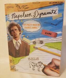 2005 Pressman Napoléon Dynamite Film Board Jeu Neuf En Mise sous Film Enveloppe