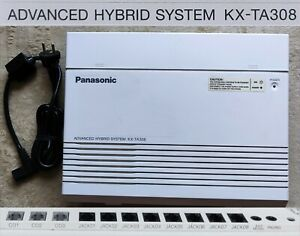 ✔️ Panasonic KX-TA308 Advanced Hybrid System 3/8 Lines in/out Made in Japan