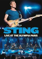 STING of THE POLICE New Sealed 2018 LIVE PARIS FRANCE CONCERT DVD