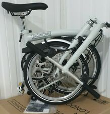 2020 BNIB BROMPTON White S6L FOLD BIKE 6 Speed Worldwide🌎 P&P
