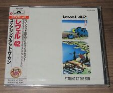 Japan PROMO issue CD! Still SEALED! LEVEL 42 more listed OBI Staring At The Sun