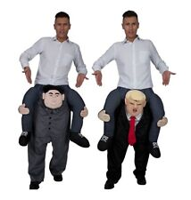 President Donald Trump Shoulder Carry Me Ride on Piggy Back Fancy Dress Costume One Size Only