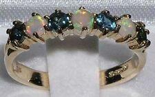 Echte Edelstein-Ringe mit Saphir für Damen