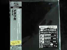 Metallica By Metallica S/T Japan SHM-CD Mini LP OBI Brand New UICY-94666