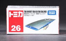 Takara Tomy Tomica 26 TOKAI UNIV. SOLAR CAR CHALLENGER 1/67 Mini Diecast Car