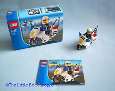Lego City 7235 POLICE MOTORCYCLE - Boxed and complete with instructions