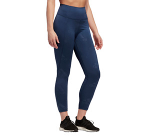 adidas Womens Training Tights Believe This 2.0 New XS to XL Tech Blue 7/8 Length