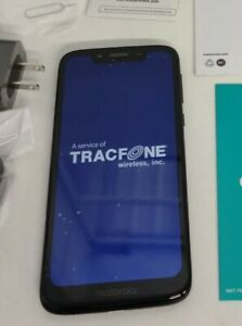 Tracfone Motorola g7 OPTIMO 4G LTE Prepaid Cell Phone (Refurbished)