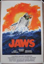 Jaws Screen Print Movie Poster Robert Tanenbaum Steven Spielberg #d /325 Shark