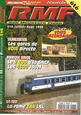 RMF N°414 UNE Z2 FRANCHE-COMTE SUR BASE JOUEF / GARES DE VOIE DIRECTE / V 200