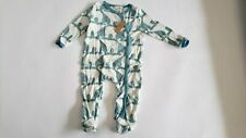 ZEBI BABY NWT INFANT KNIT SLEEPER PROJECT CONGO IN COOPERATION WITH BE A HERO