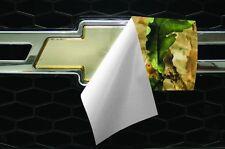 Vinyl Sheet x2 fits Chevy Bowtie Emblem Logo Woodland Extreme Camo Decals U-CUT