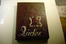 1950 University of Massachusetts Amherst MA Yearbook Index Annual UMASS