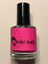NEW JINDIE NAILS NAIL POLISH ELECTRIC GRAPE SHIMMER LACQUER INDIE