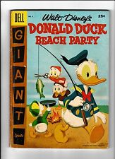 Donald Duck Beach Party No.4   : 1957 :    : Fishing Cover! :