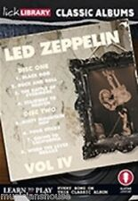 Lick Library Learn to Play DEL Zeppelin IV 4 Classic Albums Guitare DVD chien noir