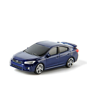 Car Toy Model 1/64 Scale Blue Diecast Vehicle Gift Collection
