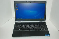 """Dell Latitude E6530 Win 7 Laptop i5 3210M 2.5GHz 4GB 320GB 15.6""""  Webcam"""