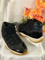 2000 Nike Air Jordan 11 Retro Space Jam Black/Blue Concord #136046-041 Sz US12