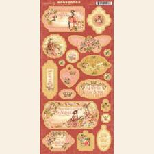 Graphic 45 An Eerie Tale Journaling Chipboard,