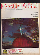 Financial World Magazine General Electric October 31 1962