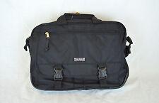 """Black 16"""" Messenger Bag Briefcase Attache Laptop Case"""